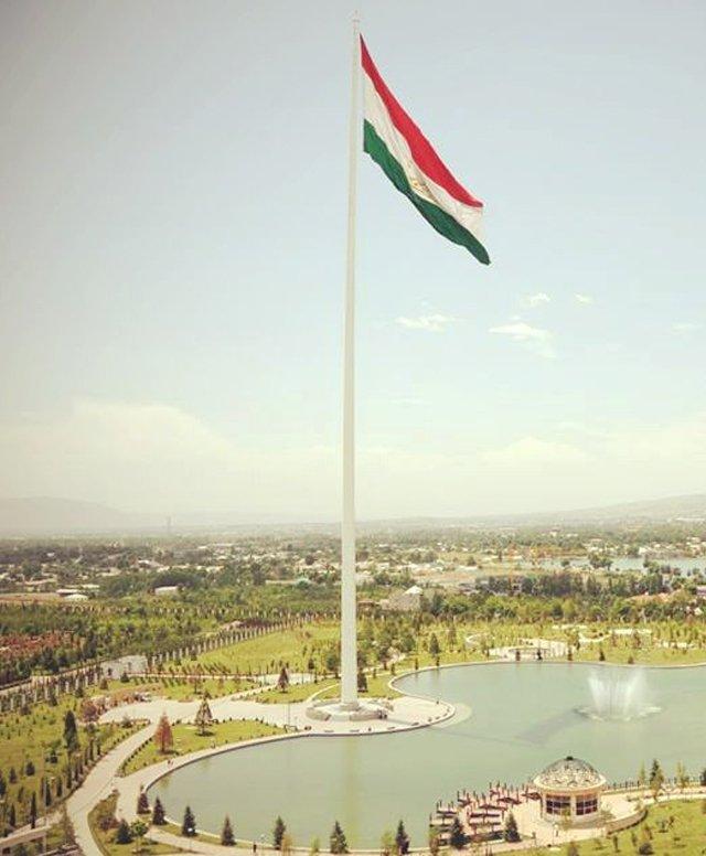 Dushanbe Flagpole