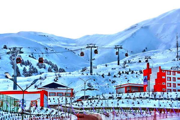 Safed-dara - the best tourist ski complex for tourists